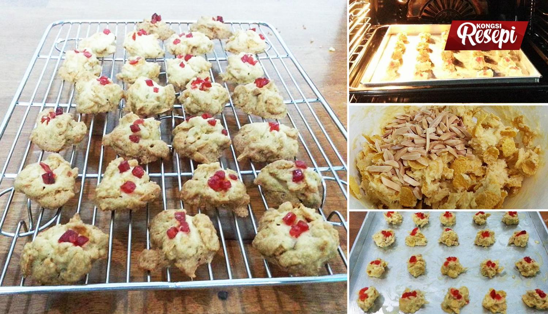 Cara Buat Red Pearl Cookies. Biskut Raya Paling Simple Dan Mudah Dibuat! - Kongsi Resepi